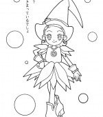 coloriage magical doremi 008